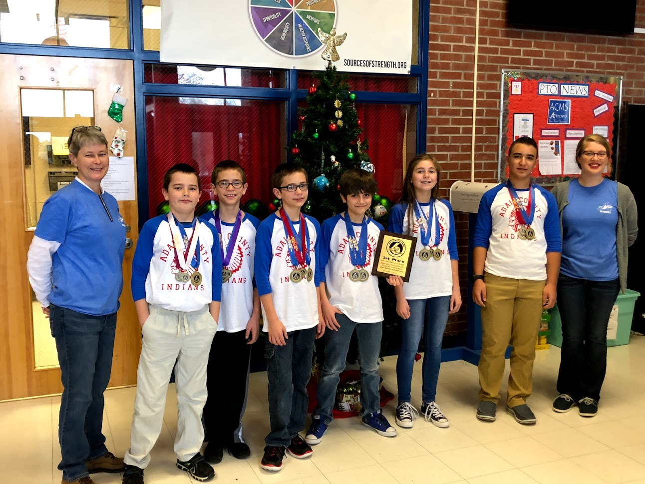 Adair County Middle School Academic Team Sweeps 6th Grade Showcase Competition