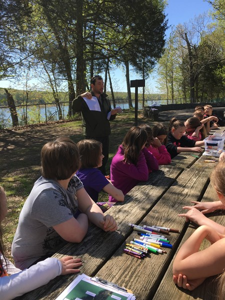 ACES 4th Grade Spends Day at Green River Park on April 30, 2018